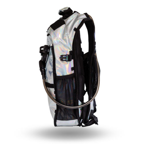 RaveRunner Hydration pack holographic side 2