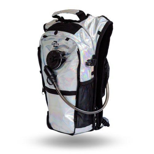 RaveRunner Hydration pack holographic side 4