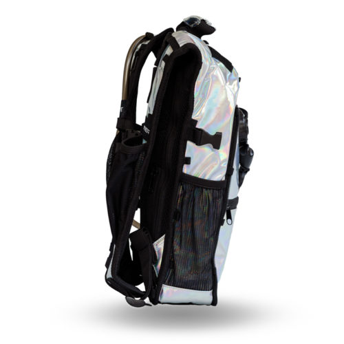 RaveRunner Hydration pack holographic side 6