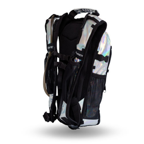 RaveRunner Hydration pack holographic side 7