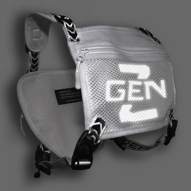 Reflective Running Chest pack Chest Utility Pack