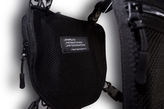 x/rig ultra running chest pack core values