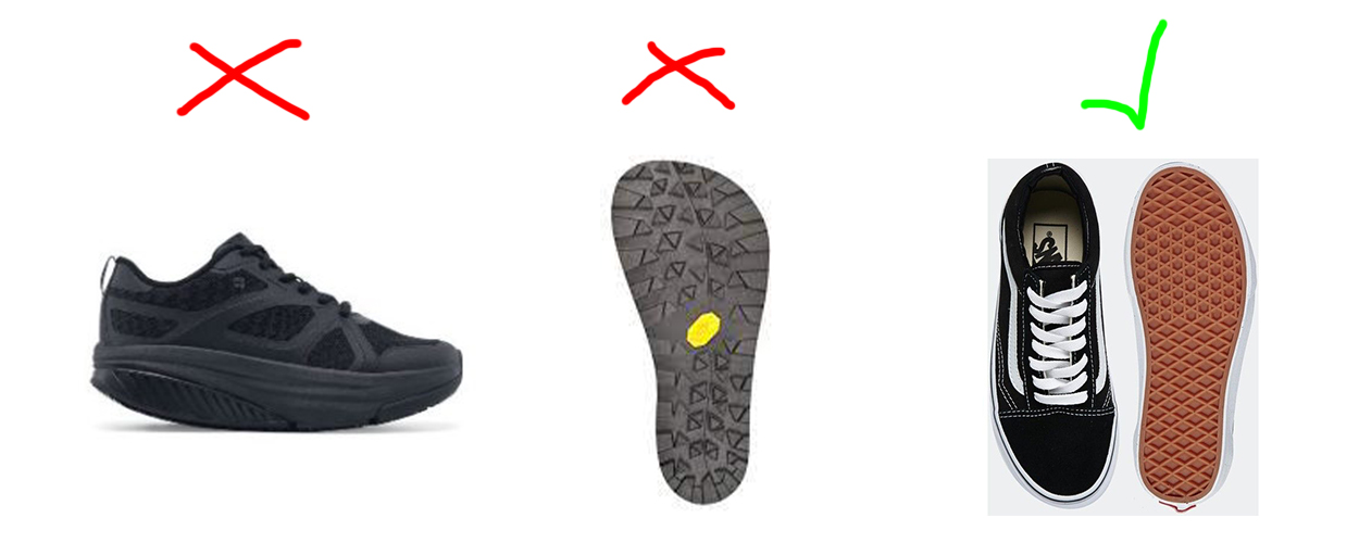 examples of the best shoes for shuffling